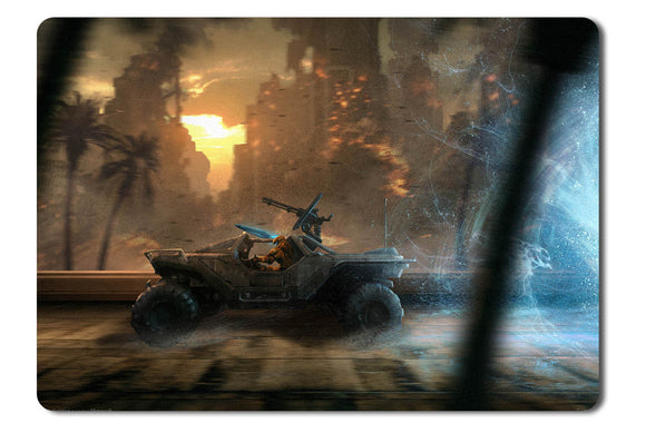 Mouse pad  Game Halo Spartan Strike 01- 21.5 X 27 X 0.3cm