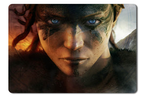 Mouse pad  Game Hellblade 01- 21.5 X 27 X 0.3cm