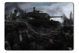 Mouse pad  Game Heroes And Generals 01- 21.5 X 27 X 0.3cm