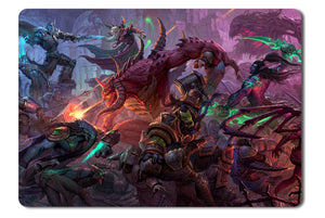 Mouse pad  Game Heroes Of The Storm Fan Art 04- 21.5 X 27 X 0.3cm