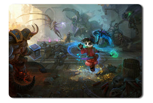 Mouse pad  Game Heroes Of The Storm Fan Art 06- 21.5 X 27 X 0.3cm