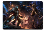 Mouse pad  Game Heroes Of The Storm Fan Art 07- 21.5 X 27 X 0.3cm