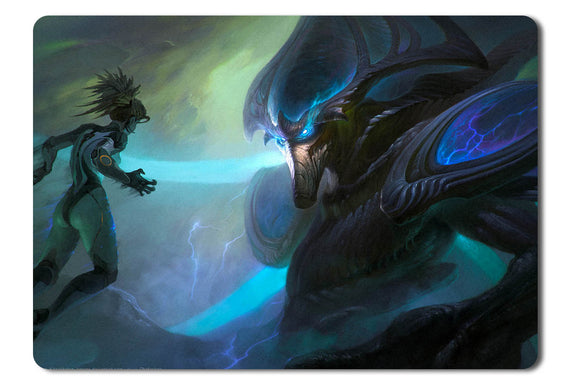 Mouse pad  Game Heroes Of The Storm Fan Art 09- 21.5 X 27 X 0.3cm