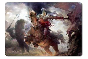 Mouse pad  Game Heroes Of Three Kingdoms 01- 21.5 X 27 X 0.3cm