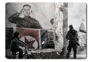 Mouse pad  Game Homefront 04- 21.5 X 27 X 0.3cm