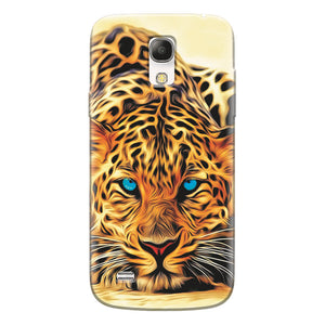 Husa silicon pentru Samsung Galaxy S4 Mini, Animal Tiger
