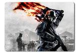 Mouse pad  Game Homefront 05- 21.5 X 27 X 0.3cm