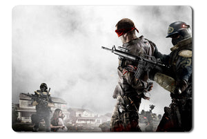 Mouse pad  Game Homefront 06- 21.5 X 27 X 0.3cm