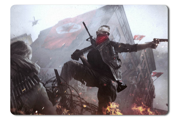 Mouse pad  Game Homefront The Revolution 01- 21.5 X 27 X 0.3cm