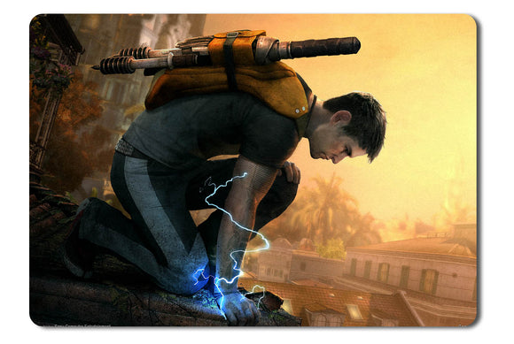 Mouse pad  Game Infamous 2 01- 21.5 X 27 X 0.3cm