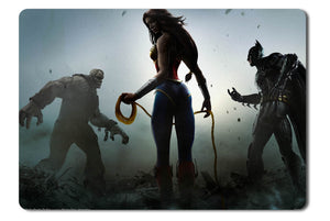 Mouse pad  Game Injustice Gods Among Us 09- 21.5 X 27 X 0.3cm