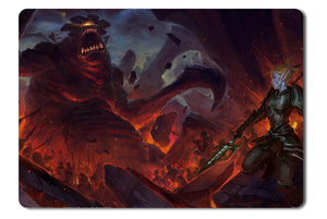 Mouse pad  Game Kingdoms Of Amalur Reckoning   The Legend Of Dead Kel 02- 21.5 X 27 X 0.3cm
