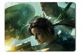 Mouse pad  Game Lara Croft And The Guardian Of Light 01- 21.5 X 27 X 0.3cm