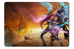 Mouse pad  Game League Of Legends 01- 21.5 X 27 X 0.3cm