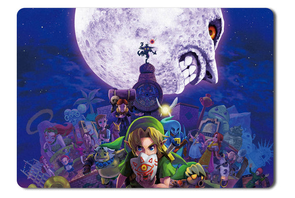 Mouse pad  Game Legend Of Zelda Majoras Mask 01- 21.5 X 27 X 0.3cm