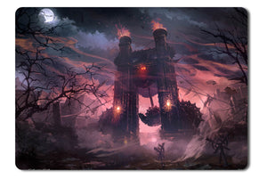 Mouse pad  Game Lineage 2 Goddes Of Destruction 06- 21.5 X 27 X 0.3cm