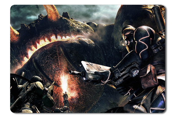 Mouse pad  Game Lost Planet 2 04- 21.5 X 27 X 0.3cm