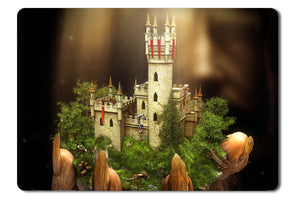 Mouse pad  Game Majesty 2 The Fantasy Kingdom Sim 02- 21.5 X 27 X 0.3cm