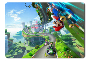 Mouse pad  Game Mario Kart 8 01- 21.5 X 27 X 0.3cm