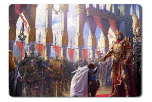 Mouse pad  Game Might And Magic Heroes 6 04- 21.5 X 27 X 0.3cm
