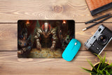 Mouse pad  Game Might And Magic Heroes Online 01- 21.5 X 27 X 0.3cm