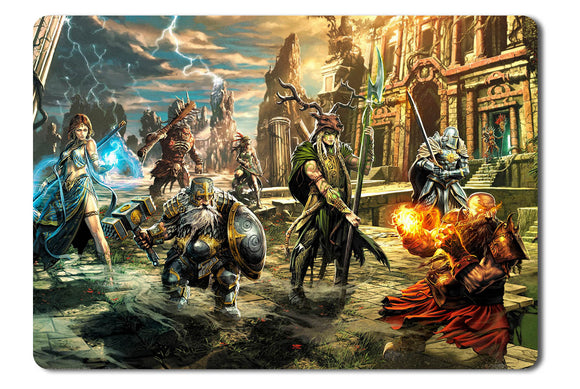 Mouse pad  Game Might And Magic X Legacy 01- 21.5 X 27 X 0.3cm