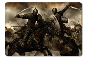Mouse pad  Game Mount And Blade 01- 21.5 X 27 X 0.3cm