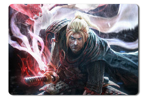 Mouse pad  Game Nioh 01- 21.5 X 27 X 0.3cm