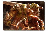 Mouse pad  Game Of Orcs And Men 01- 21.5 X 27 X 0.3cm