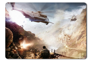 Mouse pad  Game Operation Flashpoint Red River 08- 21.5 X 27 X 0.3cm