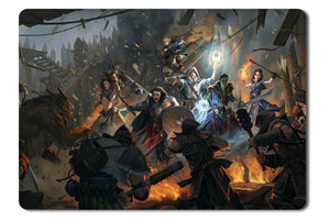 Mouse pad  Game Pathfinder Kingmaker 01- 21.5 X 27 X 0.3cm