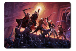 Mouse pad  Game Pillars Of Eternity 01- 21.5 X 27 X 0.3cm