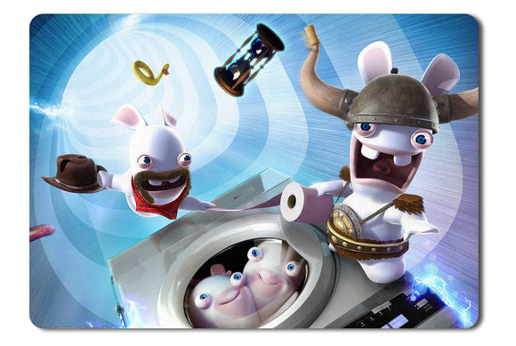 Mouse pad  Game Raving Rabbids Travel In Time 02- 21.5 X 27 X 0.3cm