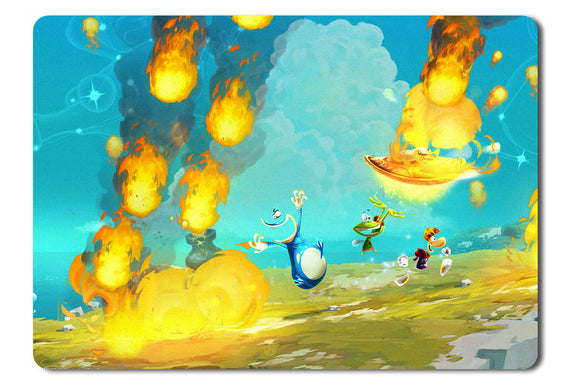 Mouse pad  Game Rayman Legends 04- 21.5 X 27 X 0.3cm