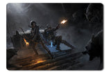 Mouse pad  Game Rise Of The Tomb Raider 20 Year Celebration 01- 21.5 X 27 X 0.3cm