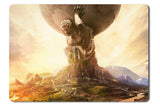 Mouse pad  Game Sid Meiers Civilization 6 01- 21.5 X 27 X 0.3cm