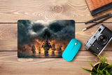 Mouse pad  Game Skull And Bones 01- 21.5 X 27 X 0.3cm
