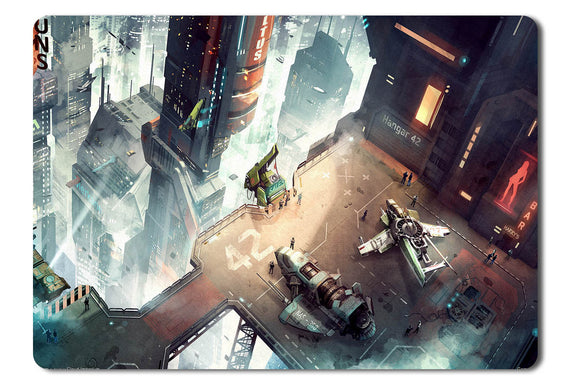 Mouse pad  Game Star Citizen 01- 21.5 X 27 X 0.3cm