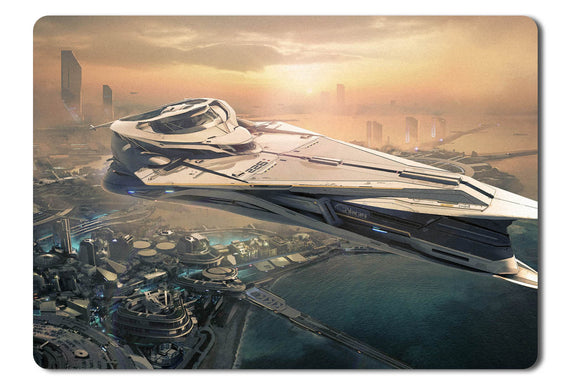 Mouse pad  Game Star Citizen 16- 21.5 X 27 X 0.3cm