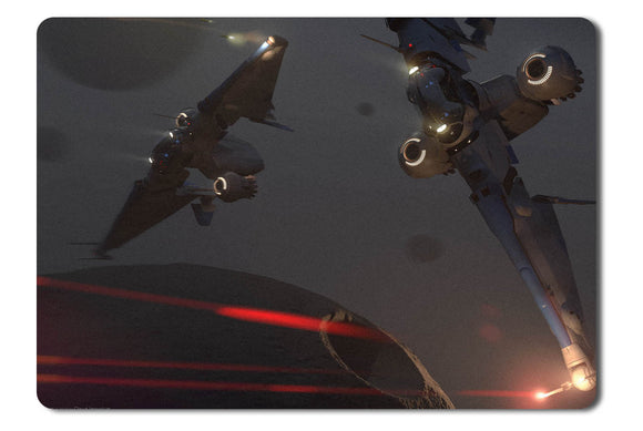 Mouse pad  Game Star Citizen 19- 21.5 X 27 X 0.3cm