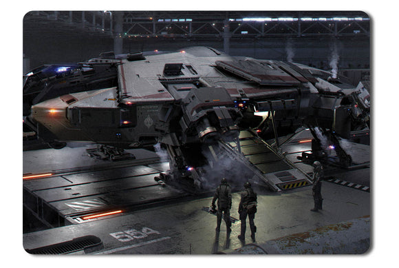 Mouse pad  Game Star Citizen 45- 21.5 X 27 X 0.3cm