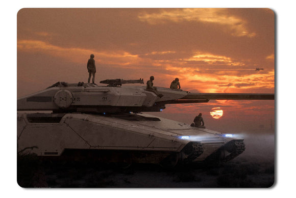 Mouse pad  Game Star Citizen 52- 21.5 X 27 X 0.3cm