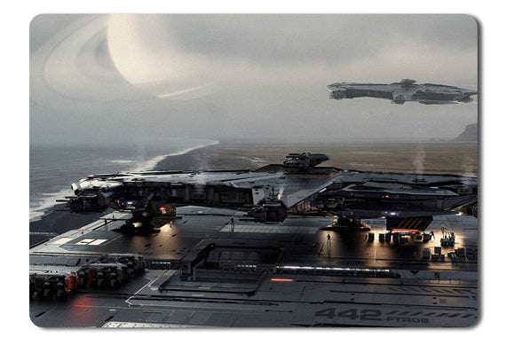 Mouse pad  Game Star Citizen 55- 21.5 X 27 X 0.3cm