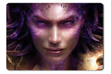 Mouse pad  Game Starcraft 2 Heart Of The Swarm 01- 21.5 X 27 X 0.3cm