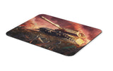 Mouse pad  Game Tank Domination 01- 21.5 X 27 X 0.3cm