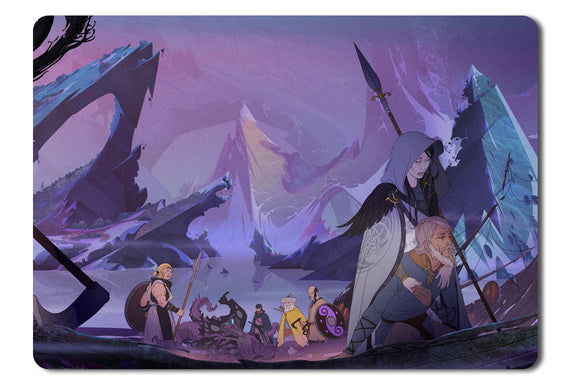 Mouse pad  Game The Banner Saga 3 01- 21.5 X 27 X 0.3cm