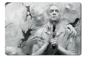 Mouse pad  Game The Evil Within 2 01- 21.5 X 27 X 0.3cm