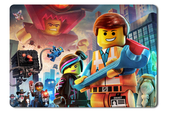 Mouse pad  Game The Lego Movie Videogame 01- 21.5 X 27 X 0.3cm