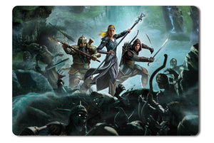 Mouse pad  Game The Lord Of The Rings War In The North 04- 21.5 X 27 X 0.3cm