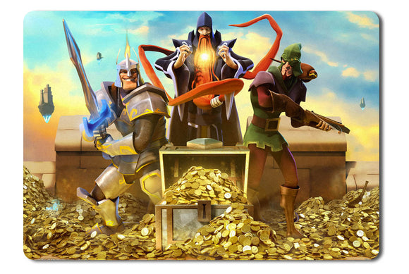 Mouse pad  Game The Mighty Quest For Epic Loot 01- 21.5 X 27 X 0.3cm